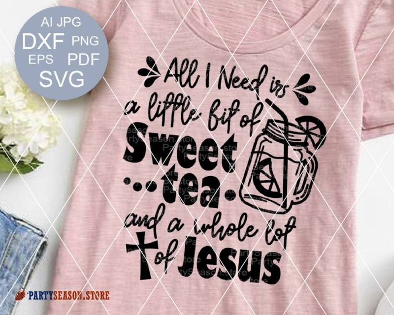 Sweet tee Jesus party season store