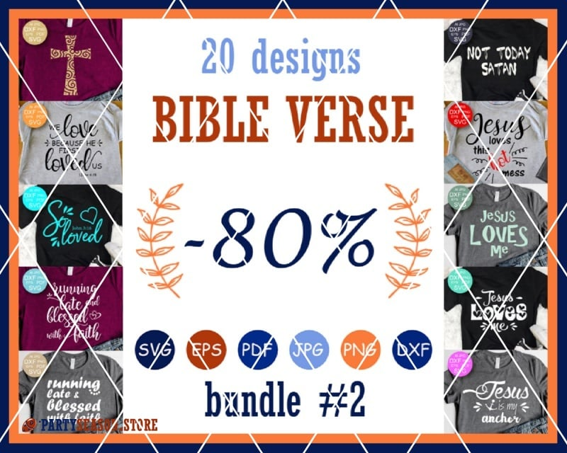 Bible verse party season store