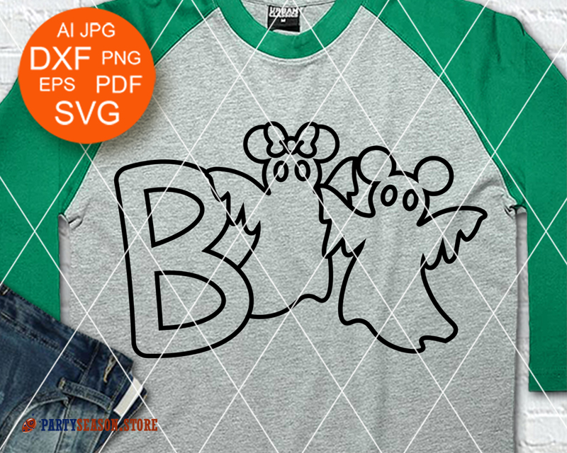 Party Season Boo svg Ghosts
