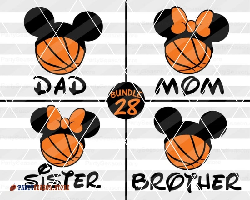 PartySeason Store Disney BUNDLE 28 basketball