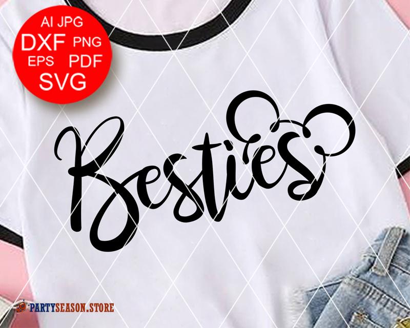 Besties Svg