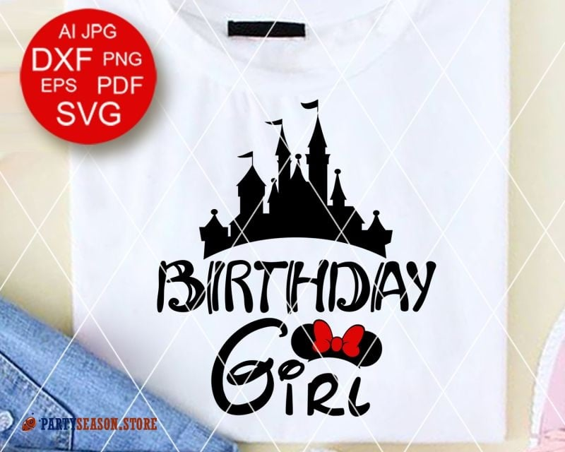 Party Season Store Birthday girl Castle