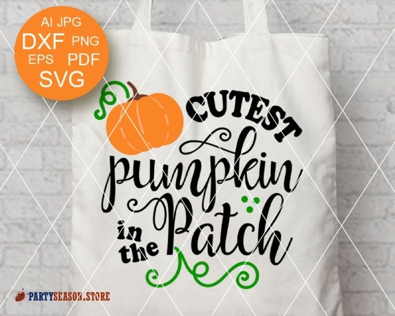 16+ Cutest Pumpkin In The Patch Svg Png Eps Dfx SVG