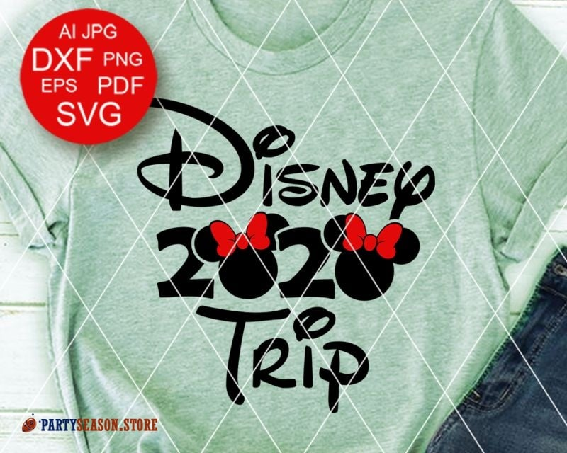Party Season Store Disney trip 2020 Vacay mode sign