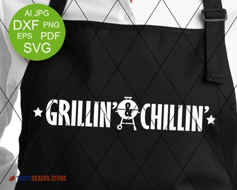 Party season store Grillin and Chillin sign