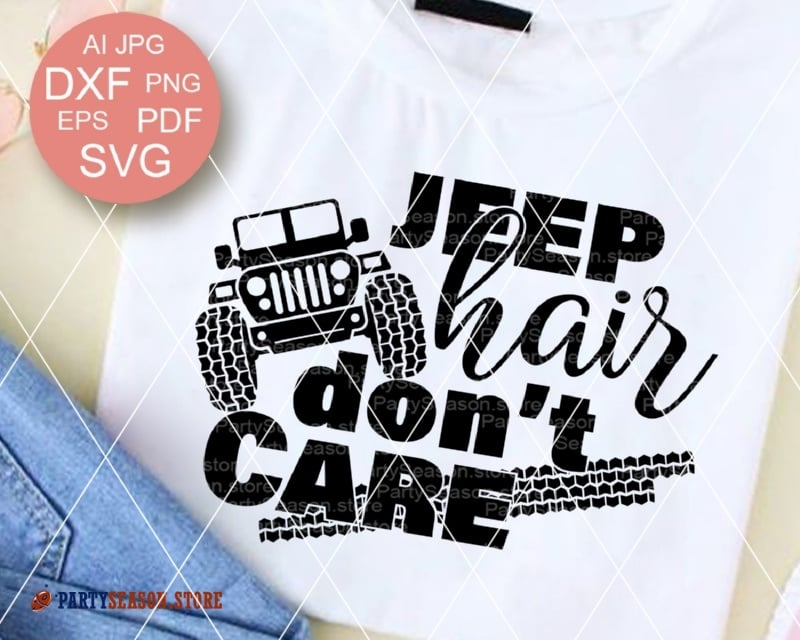 Jeep hair dont care party season