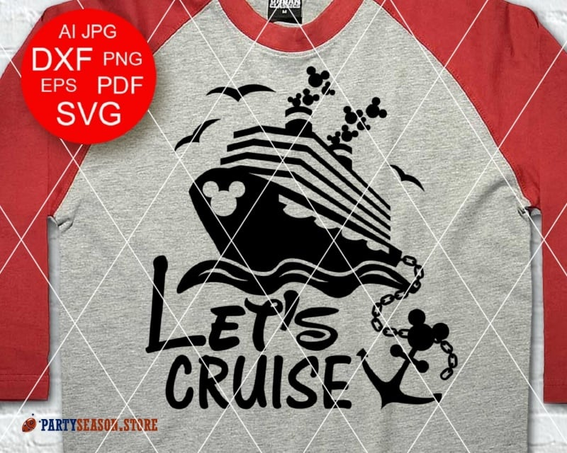 Lets Cruise Disney Party Season Store 1