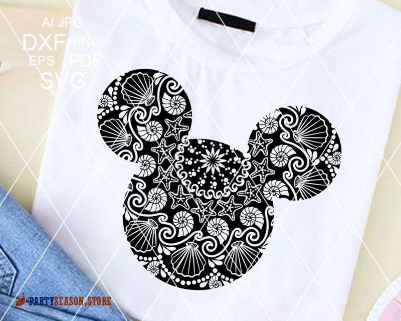 Mandala Mickey sign Party Season store