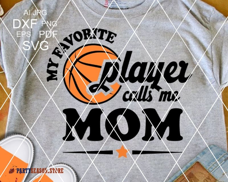 My Favorite Basketball Player calls me MOM party season