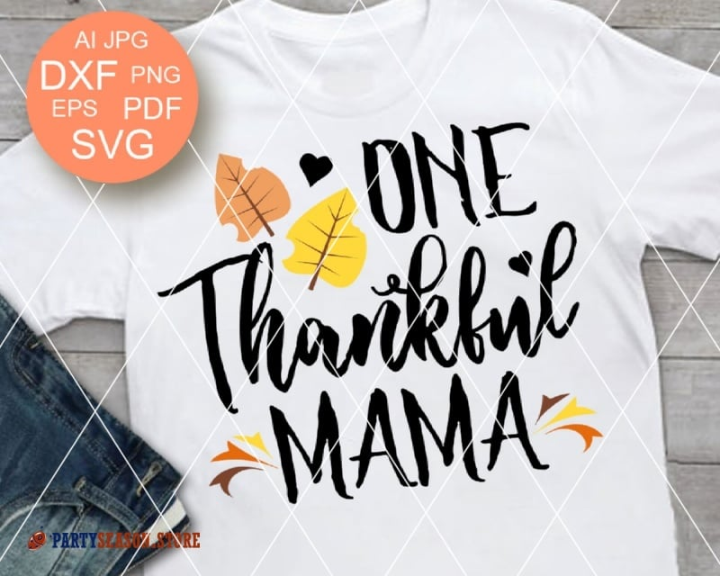 ONE thankful mama party season store