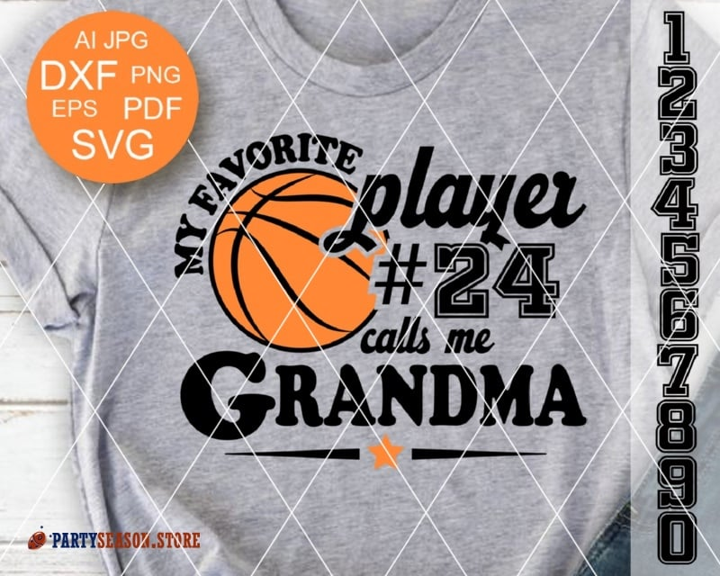 My favorite player 24 calls me grandma party season