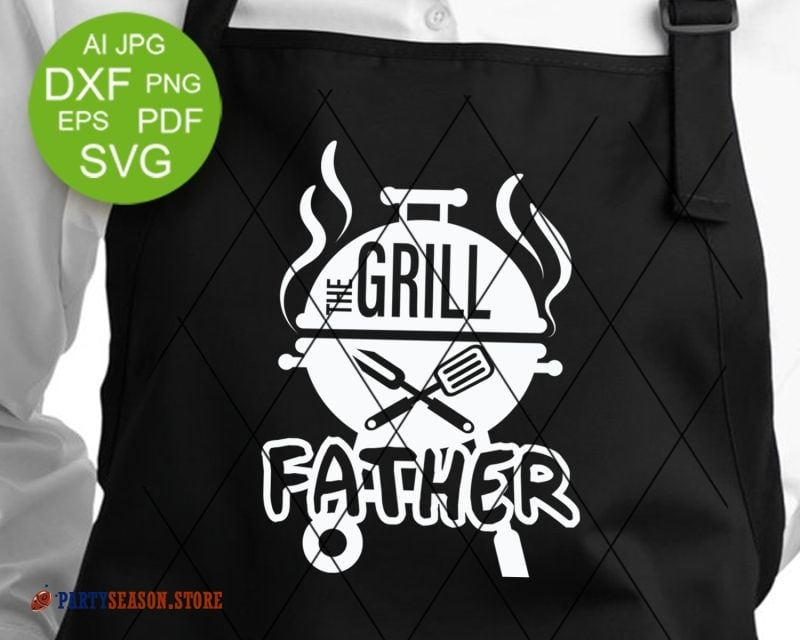 The Grill father svg