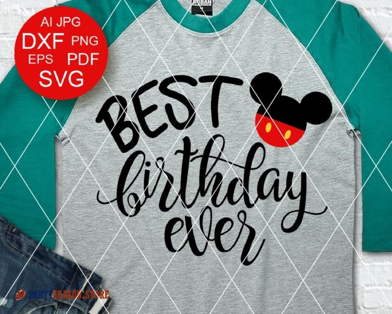 best birthday ever Mickey party season