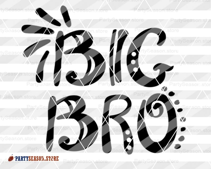 Big Bro Svg