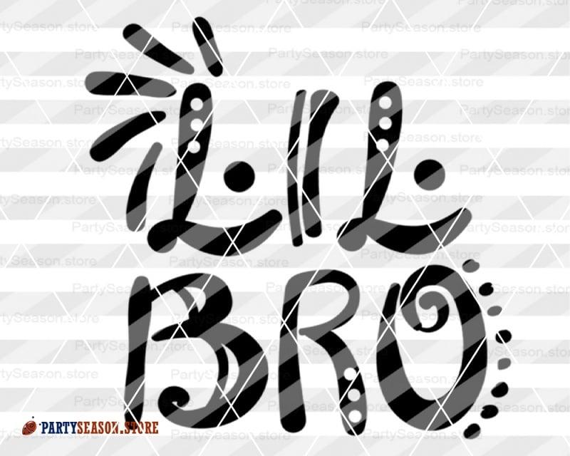 Lil Bro Svg