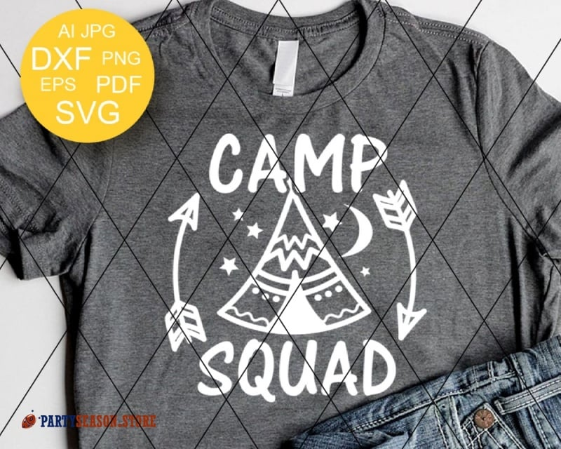 camp squad Party season