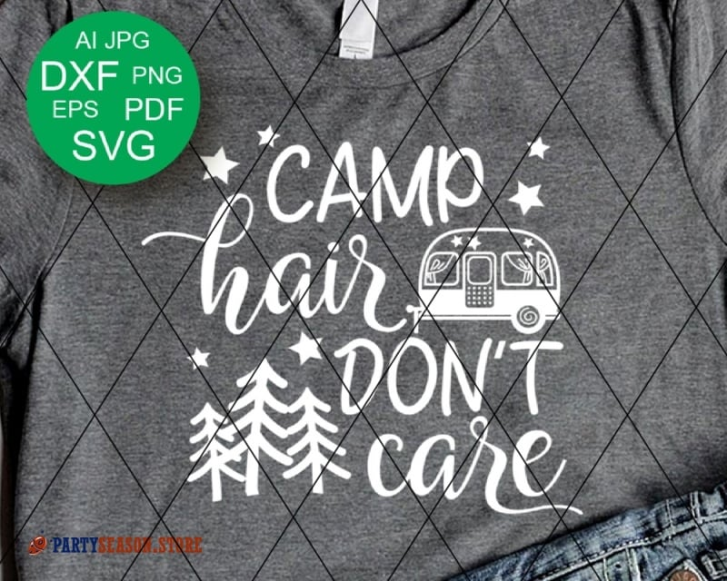 camp hair dont care Party season
