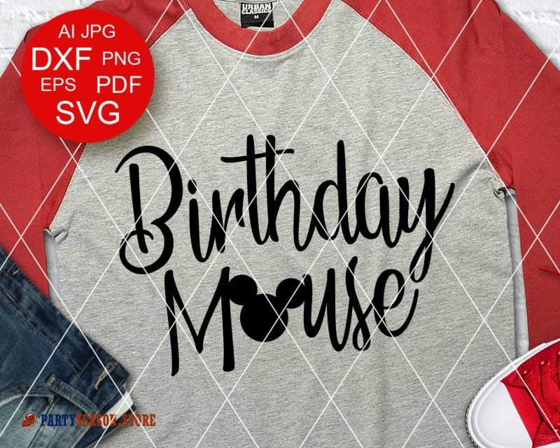 PartySeason Store Birthday mouse