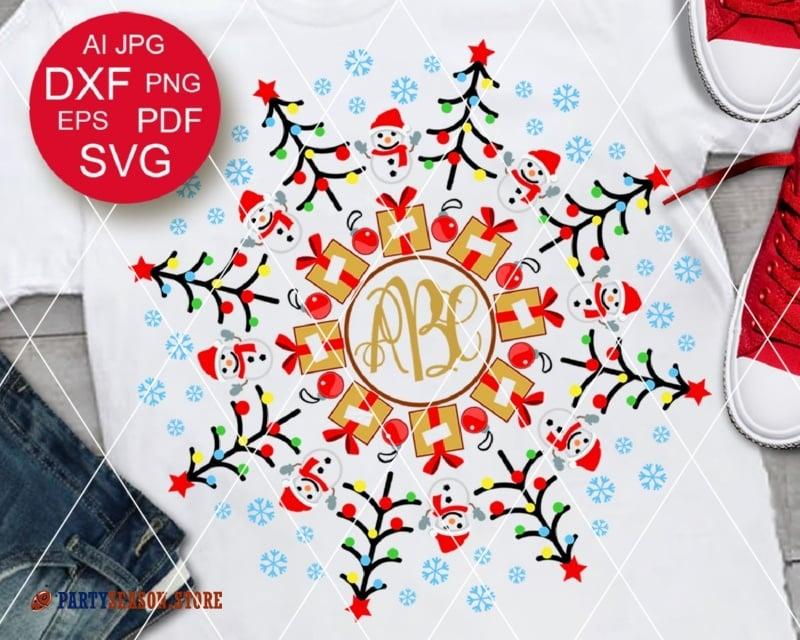 Download Christmas Monogram Svg, Christmas Bundle Svg, Christmas Ornament Svg, Merry Christmas Svg, Words Svg, Christmas Split Monogram Svg, Toolkit Design