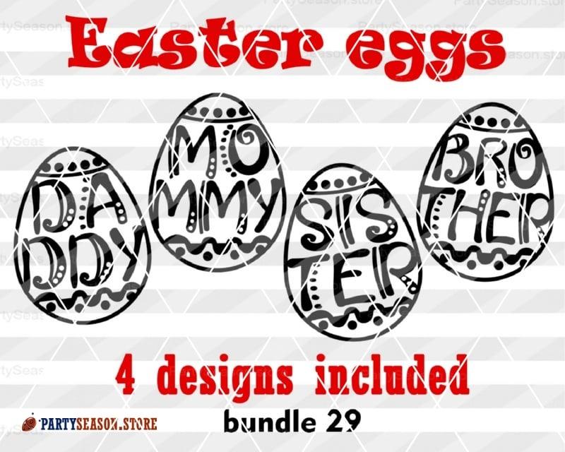 Easter Eggs Bundle