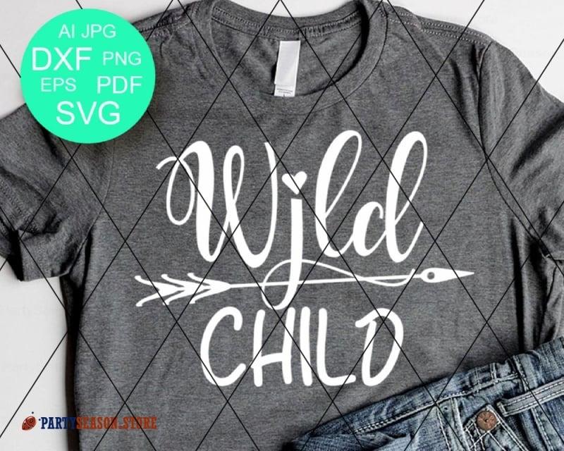 View Wild Baby – Svg File Design