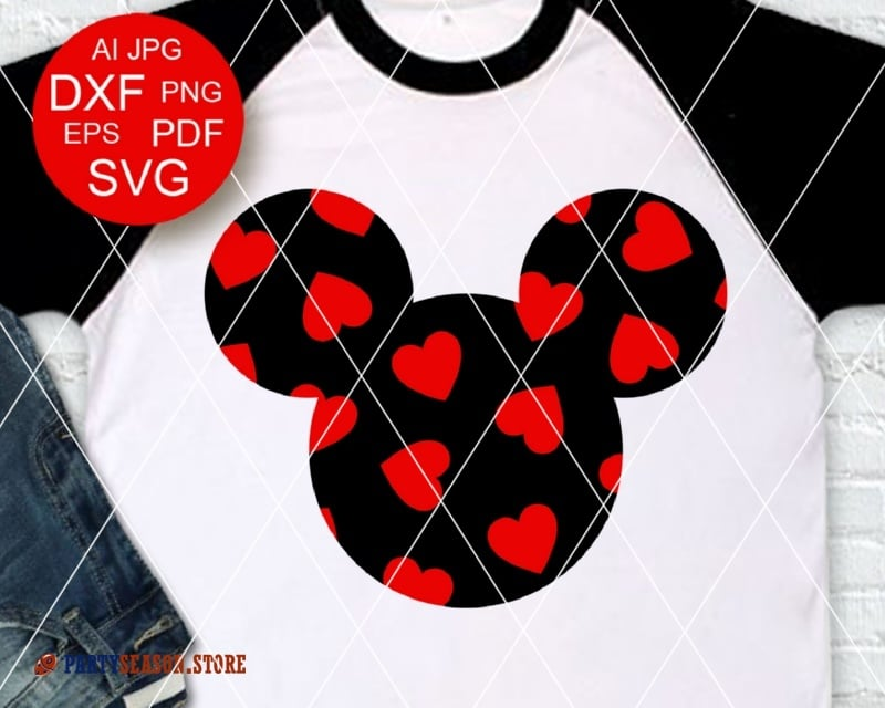 Mickey Hearts Party season