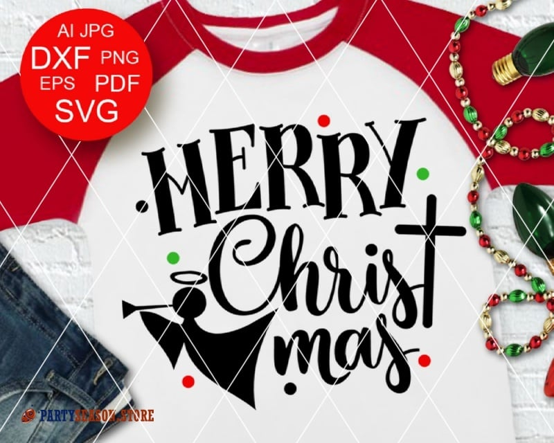 Merry Christmas svg Party Season