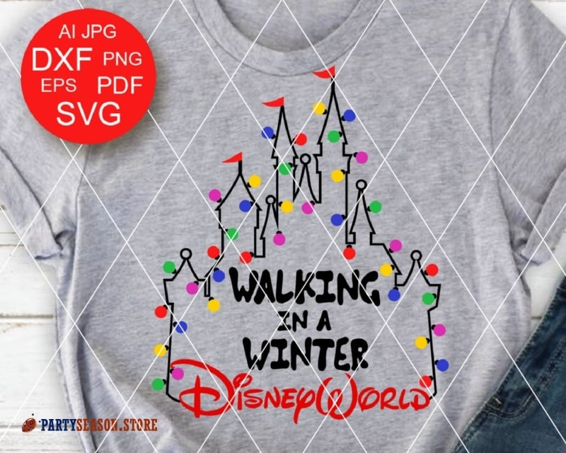 Winter Disneyworld Party Season
