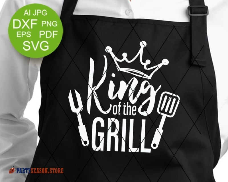 Party season store King of the grill