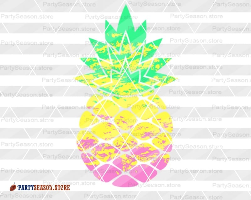 Pineapple Svg Ombre