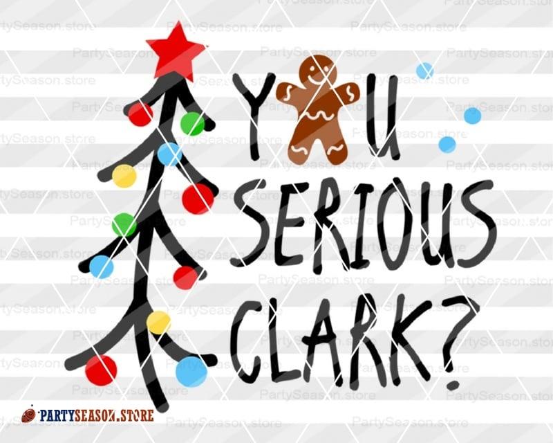 You Serious Clark Svg