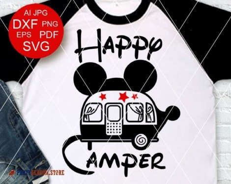party season store happy camper Mickey Mouse 1