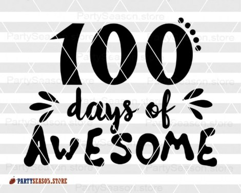 100 days awesome Party Season store 3