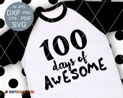 100 days awesome Party Season store 1