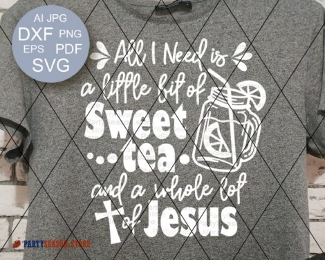 Sweet tee Jesus party season store 1