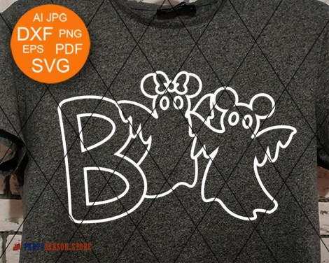 Party Season Boo svg Ghosts 1