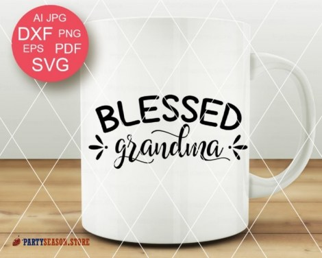 Blessed Grandma Svg Party season Store 2