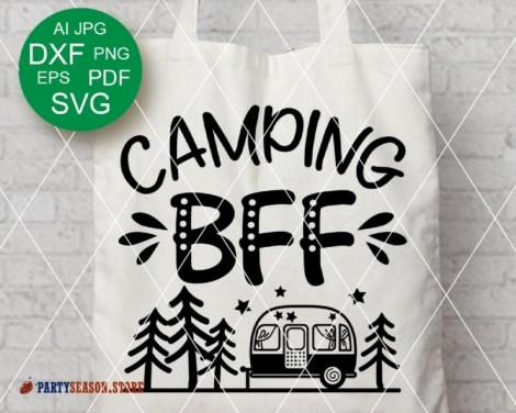 camping bff trailer Party season 3