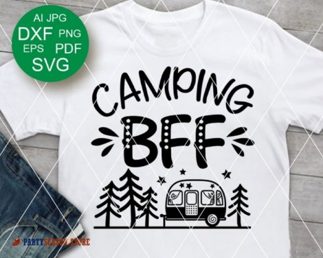 camping bff trailer Party season 1