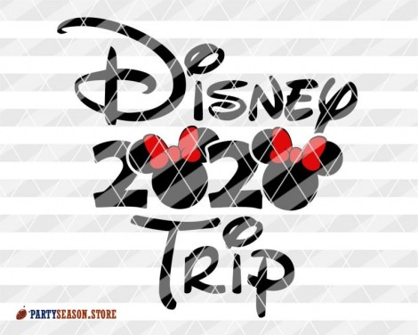 Party Season Store Disney trip 2020 Vacay mode sign 2