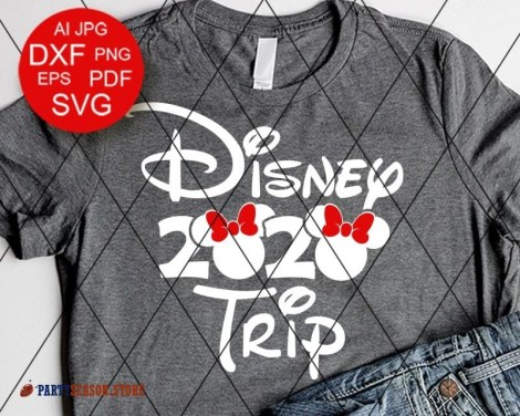 Party Season Store Disney trip 2020 Vacay mode sign 1