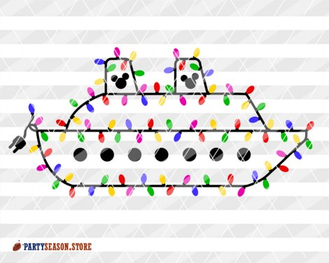 Party Season Garland ship 3