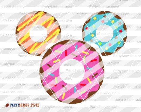 Party Season Store Donut Mickey 3