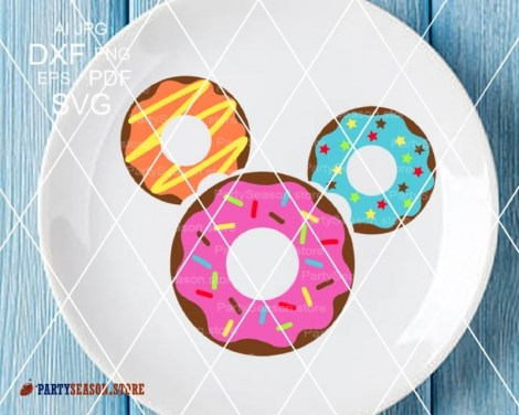 Party Season Store Donut Mickey 2