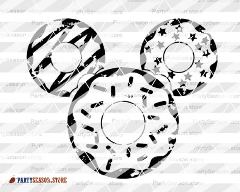 Party Season Store Donut Mickey Mouse 3