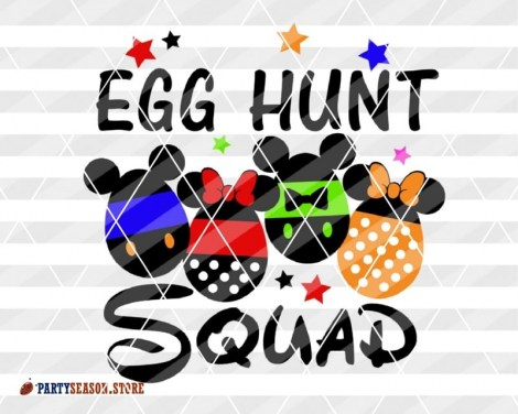 party season store EGG hunt Squad Disney 2