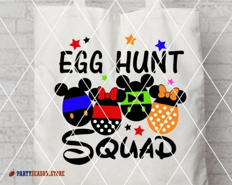 party season store EGG hunt Squad Disney 1