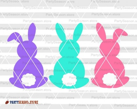 bunnies svg Party season store 3