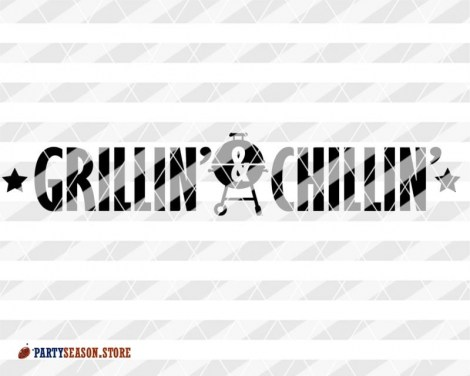 Party season store Grillin and Chillin sign 2