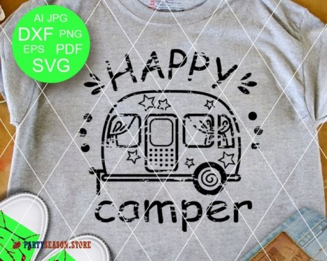 happy camper grunge Party season 1